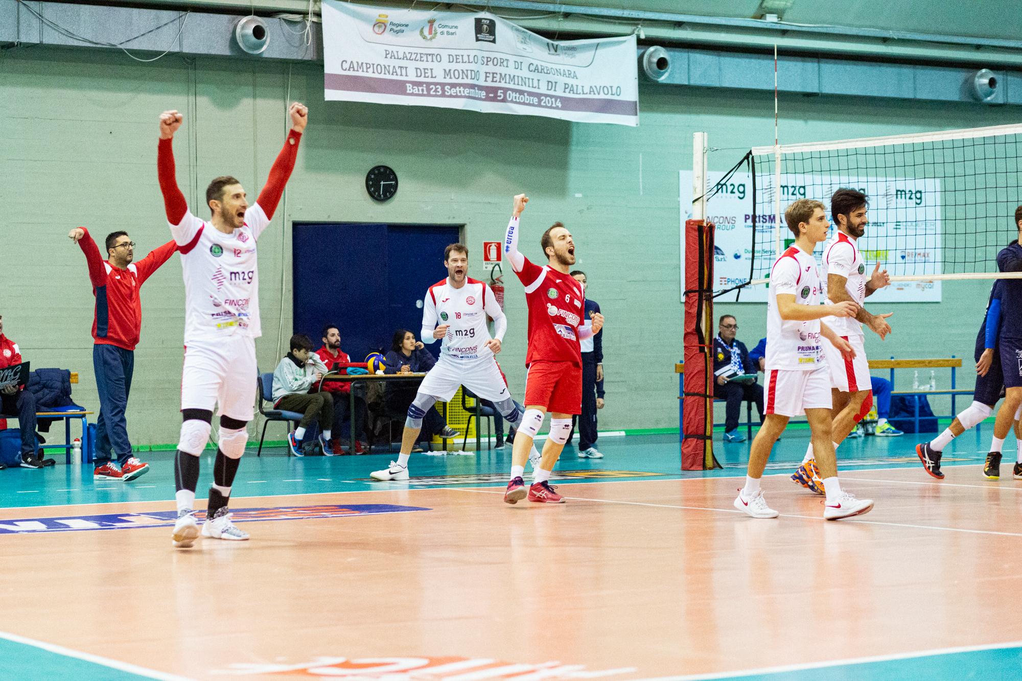 La M2G Group Bari non fa sconti e vince 3-0 il derby contro Turi
