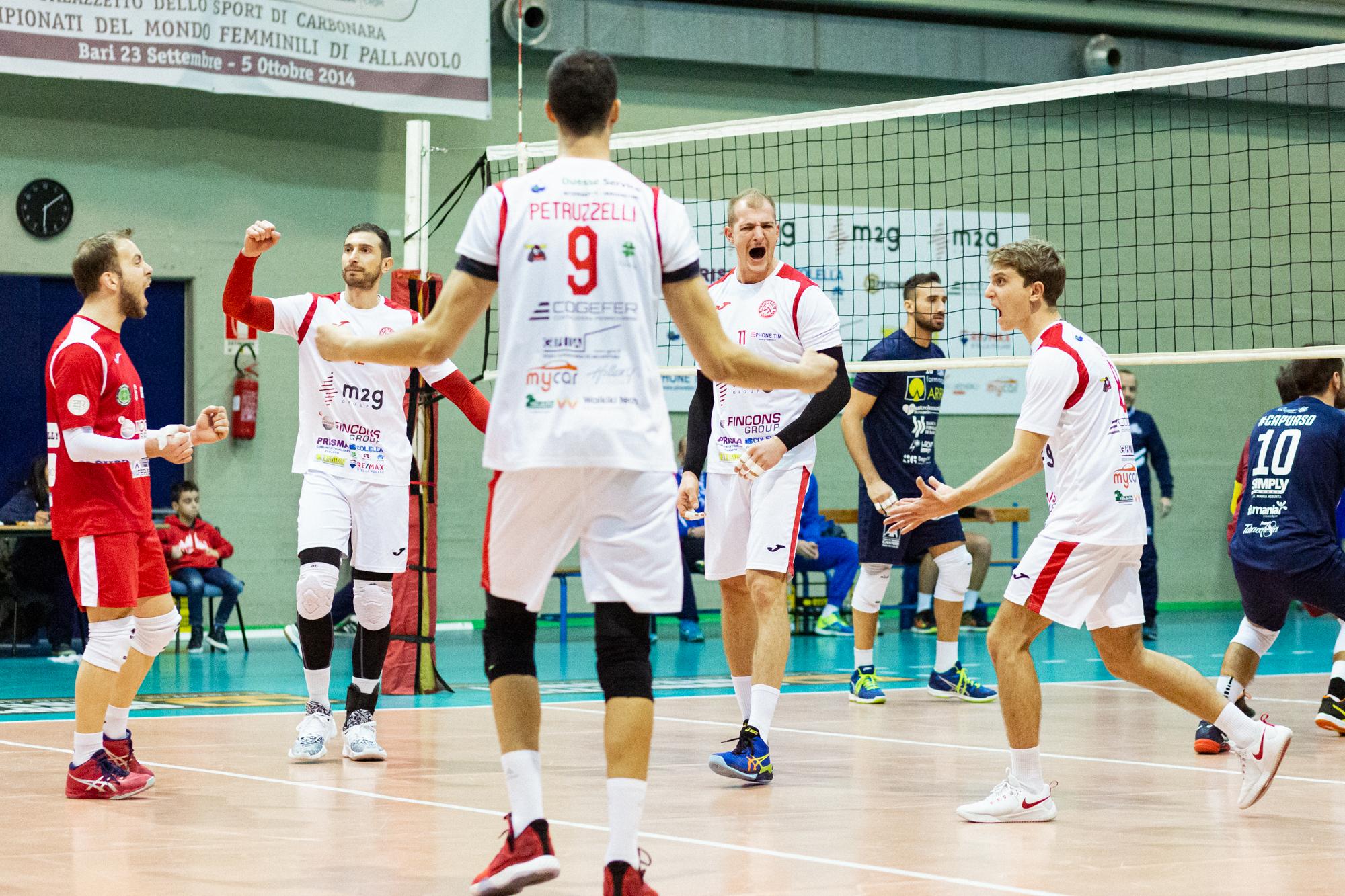 La M2G Group Bari debutta in Coppa Italia: domani l'andata dei quarti contro Civita Castellana