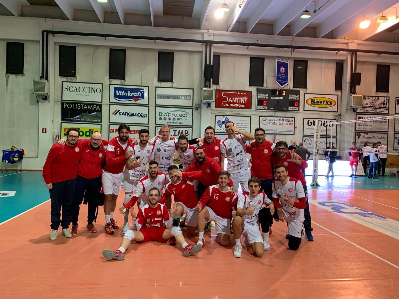 La M2G Group Bari si aggiudica l'andata dei quarti di Coppa Italia: vittoria per 1-3 a Civita Castellana