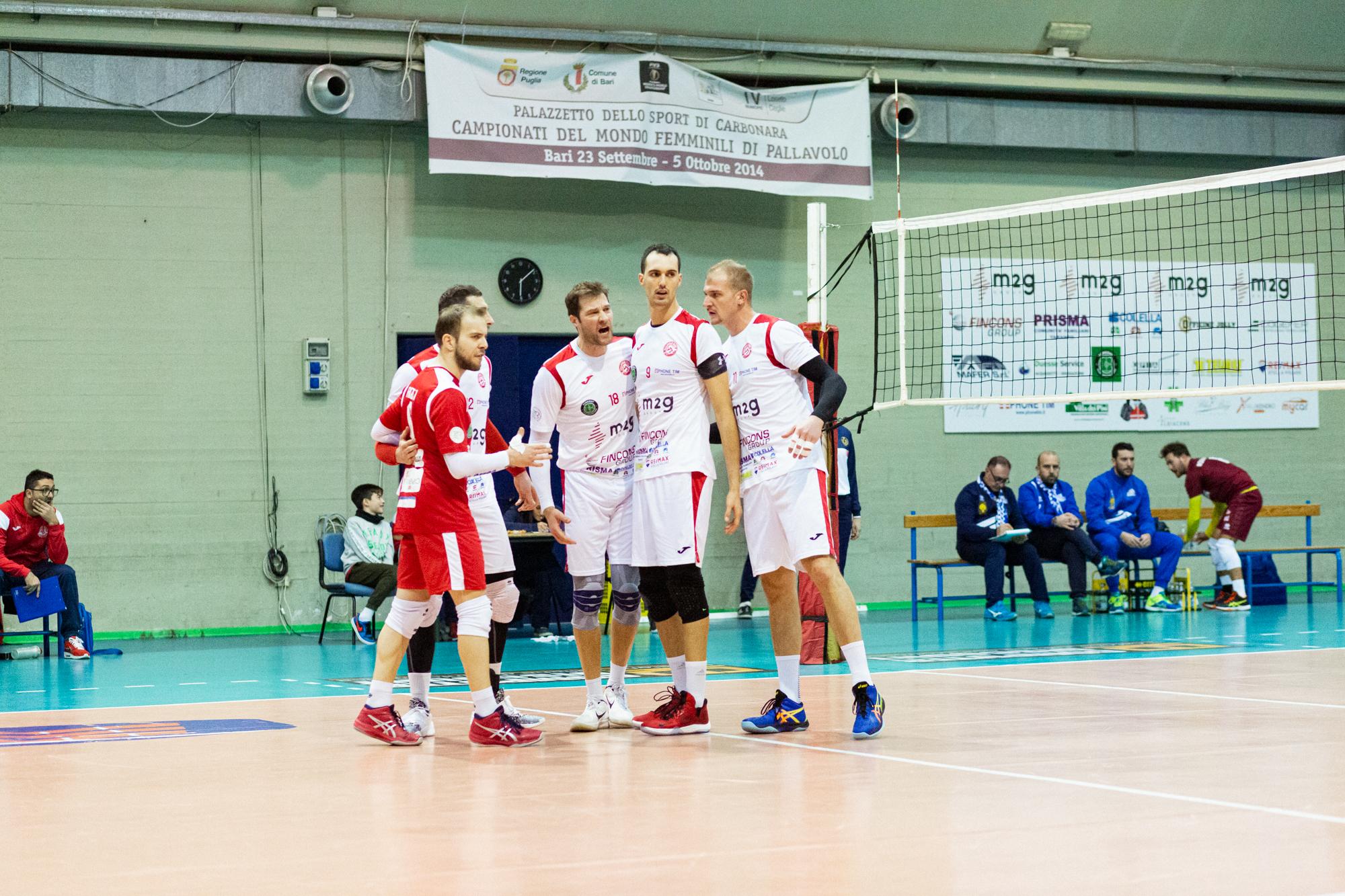 La M2G Group Bari incomincia il girone di ritorno sul campo del Foligno