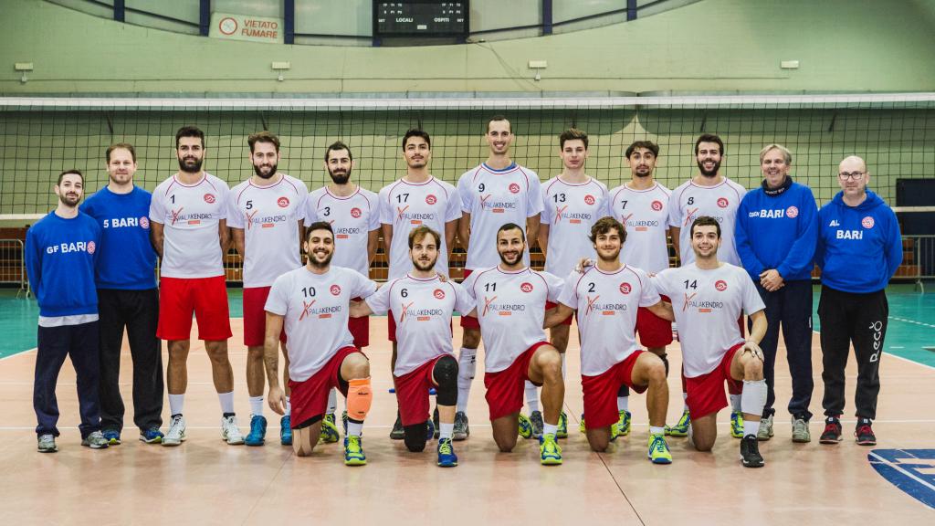 M2G Group Bari, squadra
