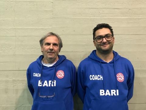 Tonino Cavalera e Salvatore Iaia, tecnici M2G Group Bari